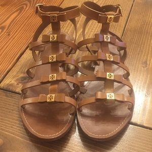 Tory Burch Gladiator Sandals Size 10.5